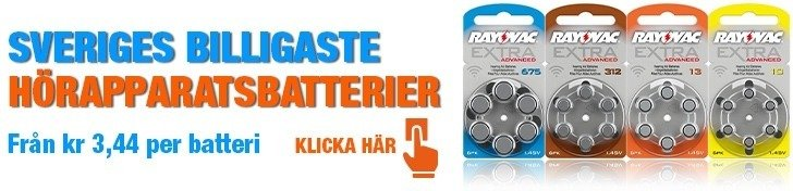 Batterier horeapparat